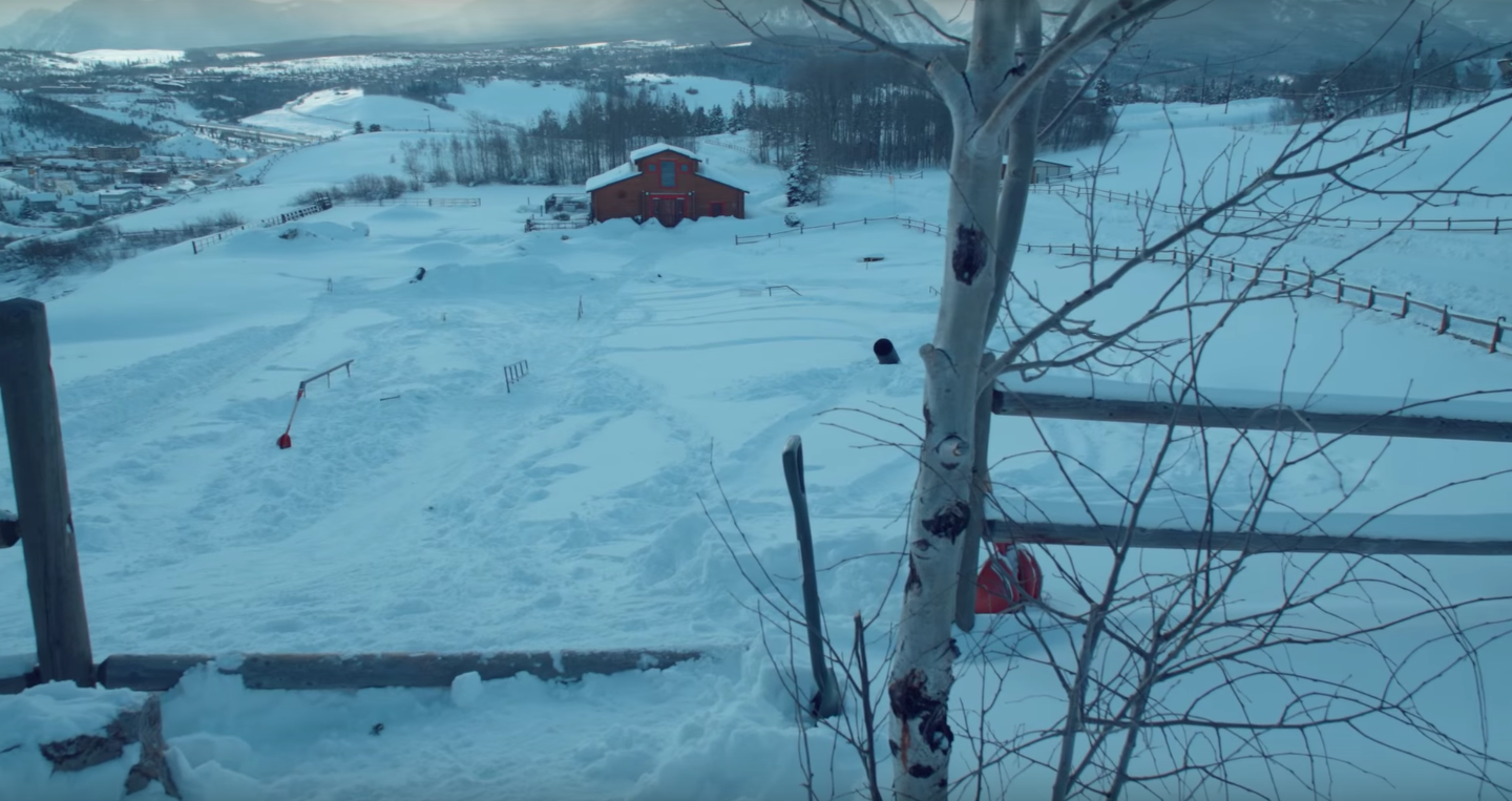 Does This 16 Year Old Pro Snowboarder Have The Ultimate Backyard?