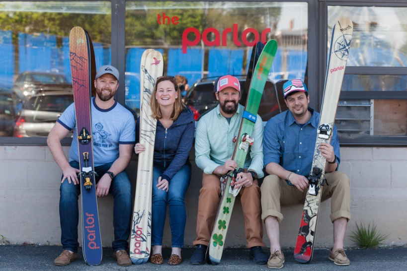 Parlor Skis People