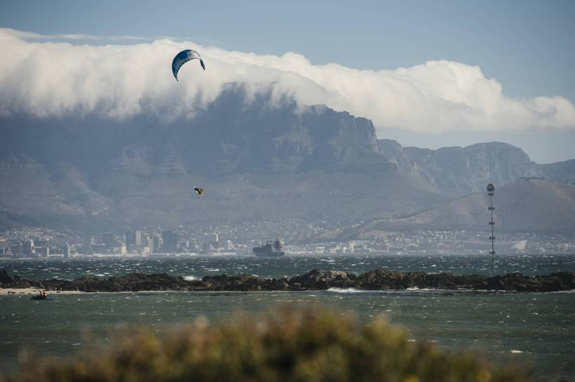 Aaron Hadlow Goes Huge at the Redbull King of the Air 2017, Cape Town, South Africa. Credit: Tyrone Bradley/Red Bull Contet Pool