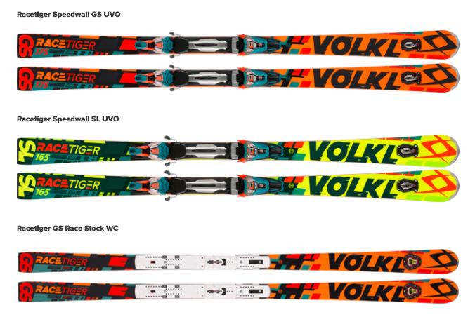 Volkl Racetiger Skis